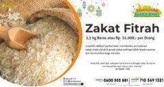 Zakat Fitrah Ramadhan 1442H