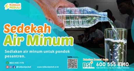 Air Minum untuk Pesantren